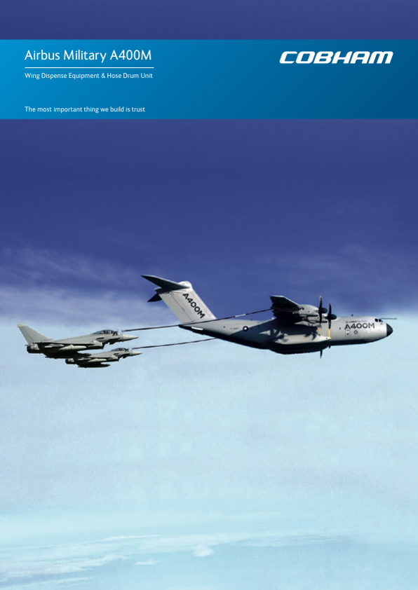 A400M Refuelling Systems Datasheet