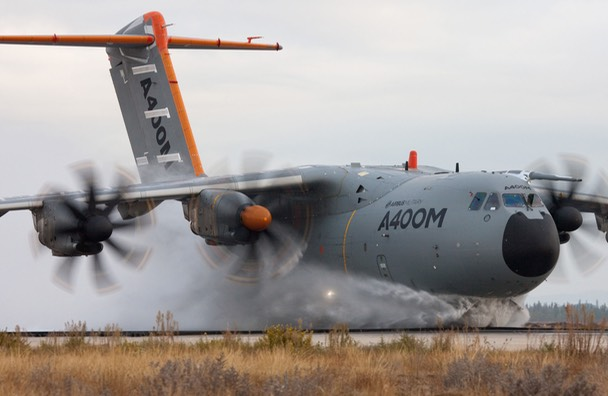 A400M water