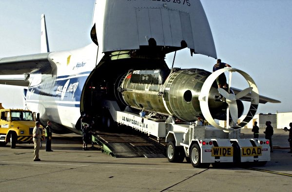 An-124 with cargo