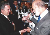 With Prince Michael of Kent (London 2004)